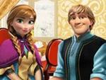 Anna ve Kristoff Yemekte
