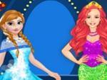 Anna ve Ariel Puanlı Giyim Yarışması
