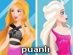 Elsa ve Barbie İşte Benim Stilim