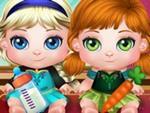 Bebek Elsa ve Anna Eğlenceli Gün