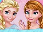 Elsa ve Anna Davete Hazırlık