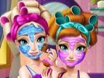 Elsa ve Anna Güzellik Bakımı