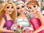 Elsa Gelinlik Giyiyor