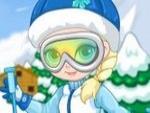 Elsa Kayak Kayma Hazırlığında