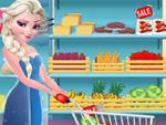 Elsa ile Sandviç Yapmaca