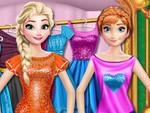 Elsa ve Anna Alışveriş Zamanı