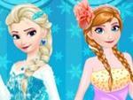 Elsa ve Anna Makyaj Yarışı