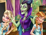 Elsa ve Anna Okulda Tembellik