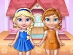 Anna ve Elsa Oyuncak Ev Dekoru