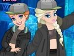 Anna ve Elsa Rap Tarzı