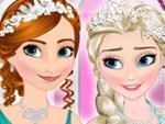 Elsa ve Anna Selfie Çekiyor