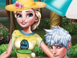 Elsa ve Jack Piknikte