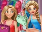 Elsa ve Rapunzel Giyim Odası