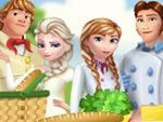 Frozen Ailesi Piknikte