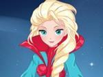 Frozen Boyalı Elbiseler