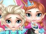 Frozen Prensesleri Hasta