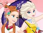 Frozen Prensesleri Asya Gezisinde