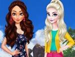 Denizin Kızı Moana vs Frozen Elsa